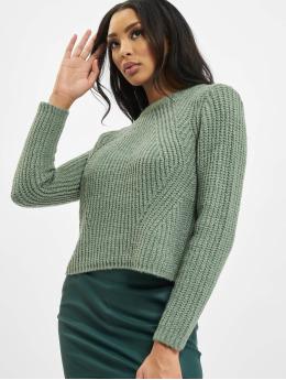Only Swetry onlFiona Knit zielony