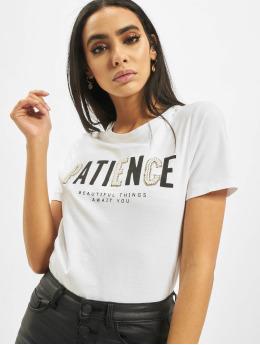 Only T-Shirt onlVivienne Regular Bling blanc