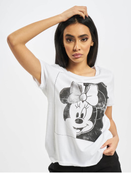 Only T-Shirt onlMickey Minnie Face Jersey blanc