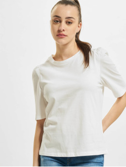 Only T-Shirt onlNora Pastel Life Vol Denim  blanc