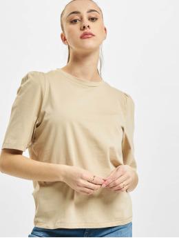 Only T-Shirt onlNora Pastel Life Vol Denim  brun