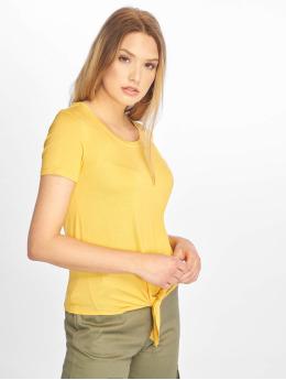 Only t-shirt onlArli Knot  geel