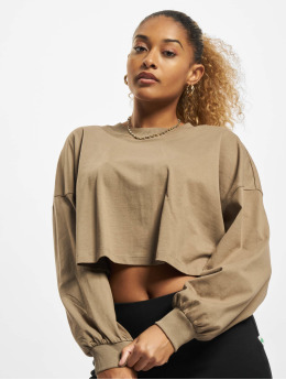 Only T-Shirt manches longues Vivi Life  olive