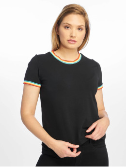 Only T-shirt onlRainbow  nero