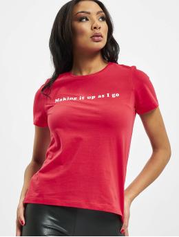 Only t-shirt onlStatement Regular rood