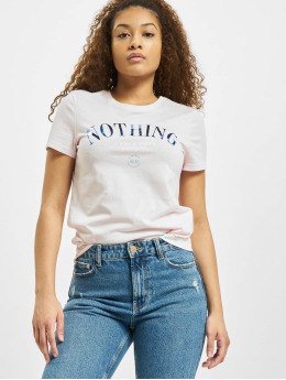 Only T-Shirt onlKita Life Reg Statement rosa