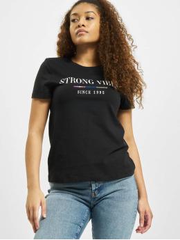 Only T-Shirt onlKita Life Reg Statemen schwarz