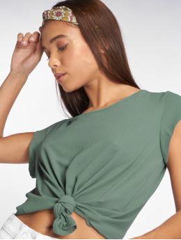 Only T-Shirt onlVic Solid Woven vert