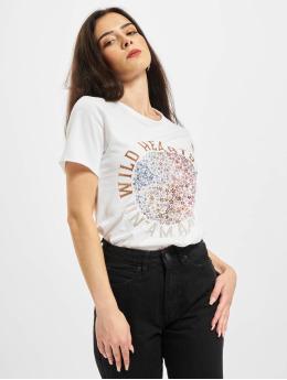 Only T-Shirt Onllucy Life Flower Box JRS weiß