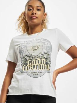 Only T-Shirt Onllucy  weiß