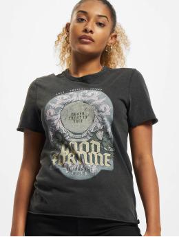 Only t-shirt Onllucy Fortune  zwart