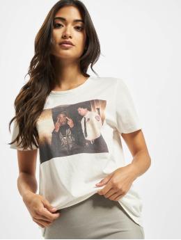 Only T-skjorter onl2pac Life hvit