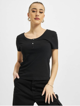 Only Top onlSimple Life Button schwarz
