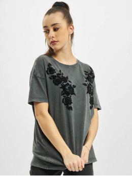 Only Tops sans manche onlRosie Life Oversize Box gris
