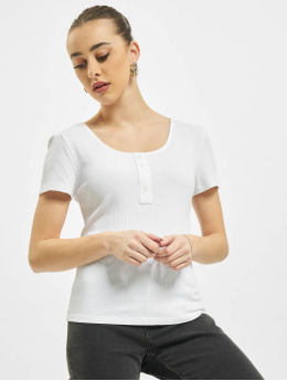 Only Tops onlSimple Life Button bialy