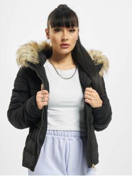 Only Veste matelassée onlNewellan Quilted Fur noir