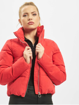 Only Veste matelassée onlDina Short Quilted rouge