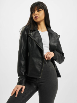 Only Zomerjas onlMelisa Faux Leather zwart