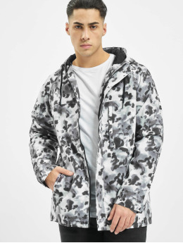 OPM Winter Jacket Black Camo white