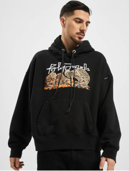 Palm Angels Hoodies Desert Skull čern