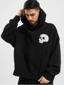 Palm Angels Hoodies Skull  čern
