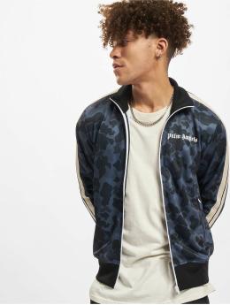 Palm Angels Lightweight Jacket Night Camo Track black