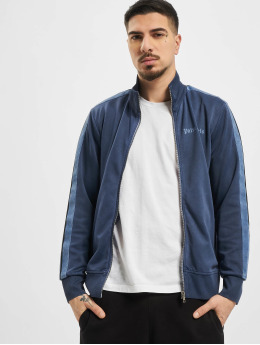 Palm Angels Lightweight Jacket Garment Dyed blue