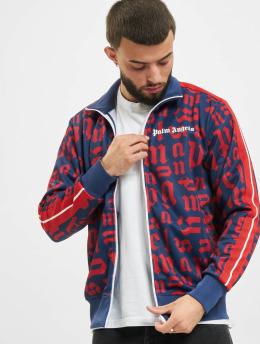 Palm Angels Lightweight Jacket Broken Monogram  blue