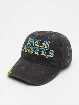 Palm Angels Snapback Cap Gothic Logo  black