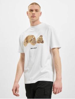 Palm Angels T-paidat Bear Classic valkoinen