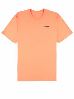 Patagonia T-Shirt P-6 Logo Responsibili orange