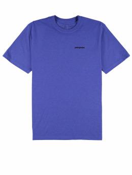 Patagonia T-Shirt P-6 Logo Responsibili violet