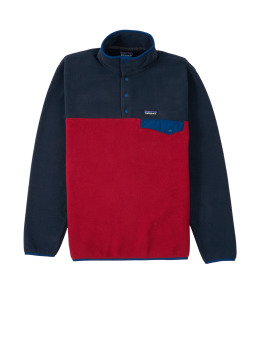 Patagonia Übergangsjacke M's Lw Synch Snapt rot