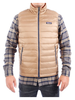 Patagonia Winterjacke Down Sweater Vest braun