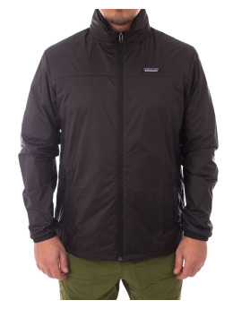 Patagonia Winterjacke Light & Variable Jacket schwarz