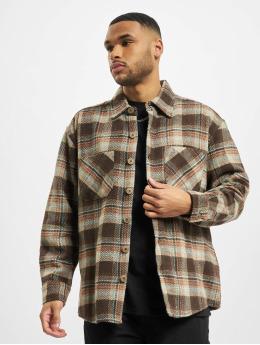 PEGADOR Camisa Delta Heavy Flannel marrón