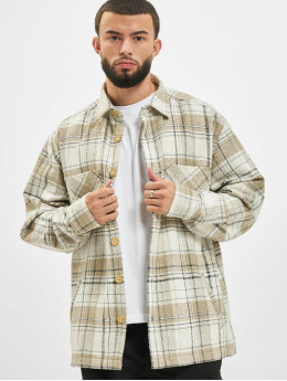PEGADOR Chemise Flato Heavy Wool Flannel beige