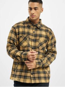PEGADOR Hemd Flato Heavy Flannel beige
