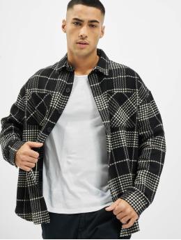 PEGADOR Hemd Sydney Round Heavy Flannel schwarz