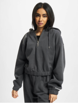 PEGADOR Hettegensre Nicki Oversized Cropped grå