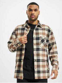 PEGADOR Koszule Flato Heavy Flannel brazowy