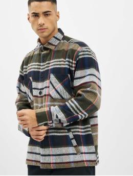 PEGADOR Koszule Flato Heavy Flannel  oliwkowy