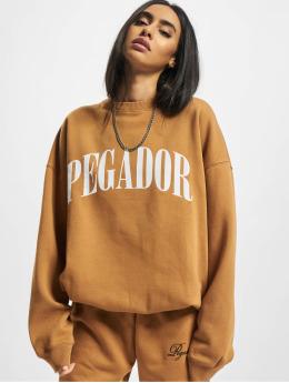 PEGADOR Pullover Marino Oversized brown
