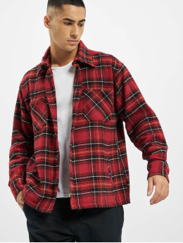 PEGADOR Shirt Flato Heavy Flannel red