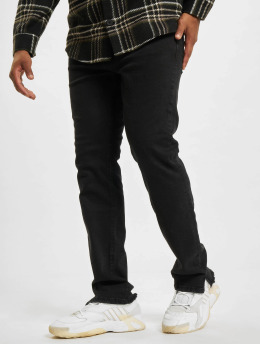 PEGADOR Skinny Jeans Bayamo Distressed czarny