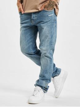 PEGADOR Skinny Jeans Moa Button niebieski