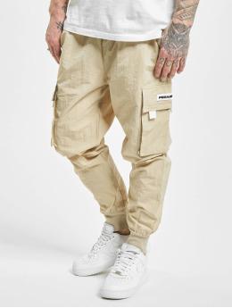 PEGADOR Spodnie Chino/Cargo Reno Woven bezowy