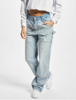 PEGADOR Straight Fit Jeans Blake blå