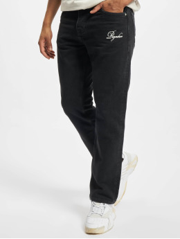 PEGADOR Straight Fit Jeans Daxing Baggy schwarz