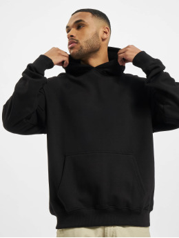 PEGADOR Sweat capuche Heavy Oversized noir